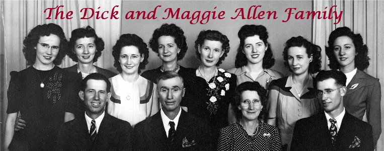 The Dick and Maggie Allen Family