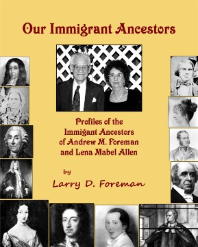 Front cover of Our Immigrant Ancestors
