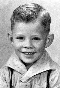 Patrick in 1940 at age 3.
